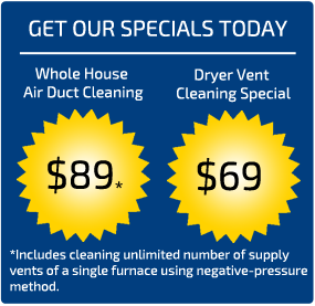 Air Duct Cleaning Snohomish Coupons